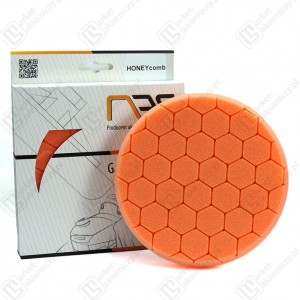 Gąbka polerska na rzep NAT – HONEYcomb – 150mm
